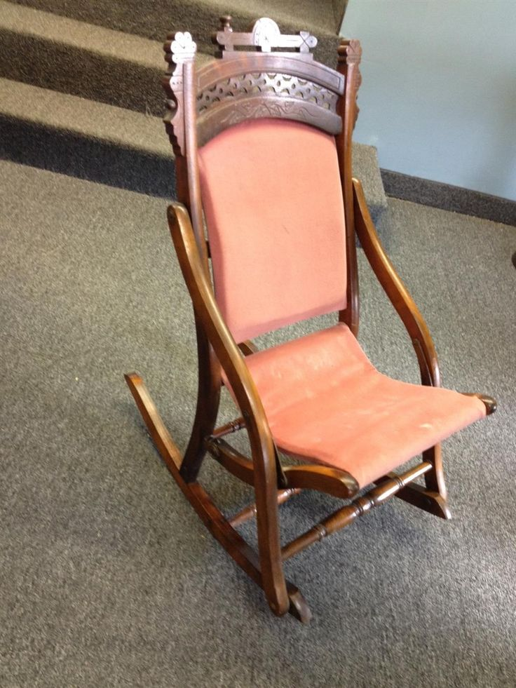 antique folding rocking chair wood small portable 27 best images about ladies sewing rocker on pinterest | antiques, chairs and civil wars
