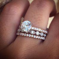 Best 25+ Stacked wedding rings ideas on Pinterest