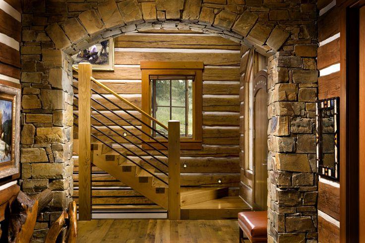 Lifeline Interior Hazelnut Log Home Stain And Perma Chink