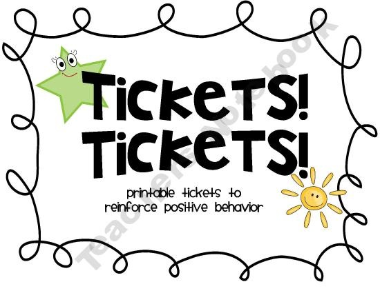 Tickets! Tickets! Printable Raffles and Tickets for
