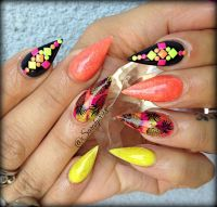 815 best images about Nails - Stiletto & Almond Shape on ...