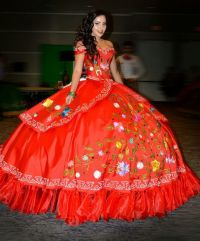 29 best images about Mexican Style Quinceaera Dresses on