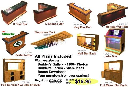 Building A Home Bar Free Plans – House Design Ideas