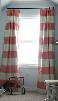 25 Best Ideas About Horizontal Striped Curtains On Pinterest