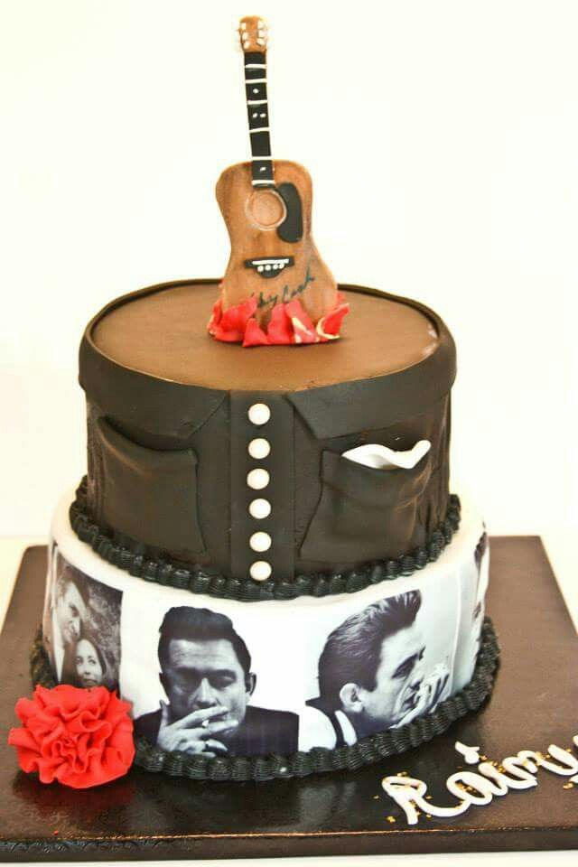 Johnny Cash Cake From Southern Bee Cupcakes Httpstouch