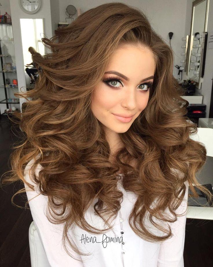 25 Best Ideas About Volume Hairstyles On Pinterest Half Up Half