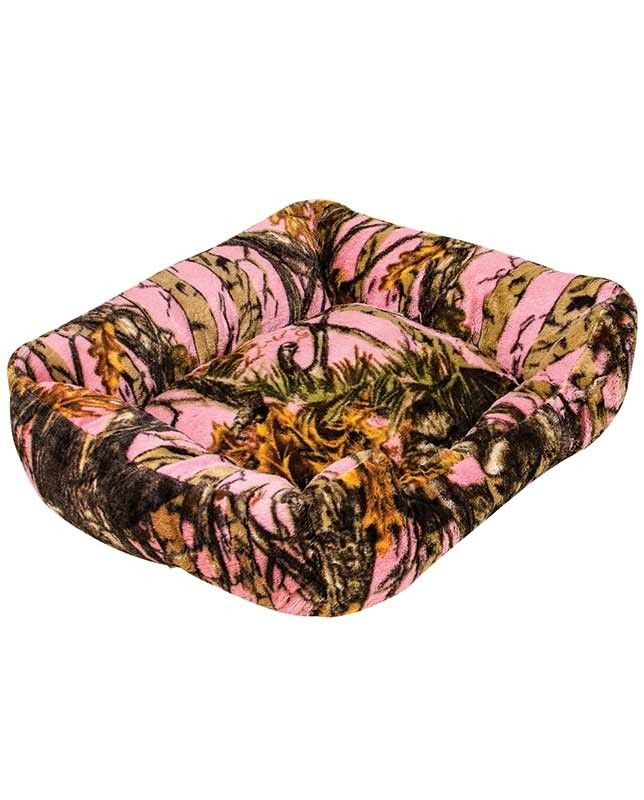 Large Pink Camo Dog Bed 28 x 22 x 8  Country Home
