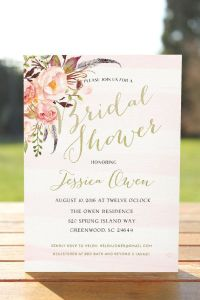 25+ best ideas about Bridal Shower Invitations on ...