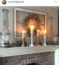 Best ideas about Farmhouse Style Fireplace Mantel, Modern ...