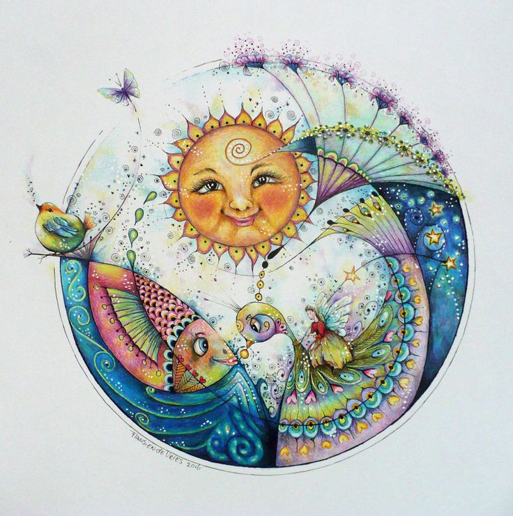 318 Best Sun Moon Amp Stars Draw Amp Doodle Images On Pinterest