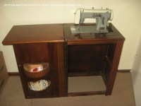 Brother in a cabinet | Sewing machine pr0n | Pinterest ...