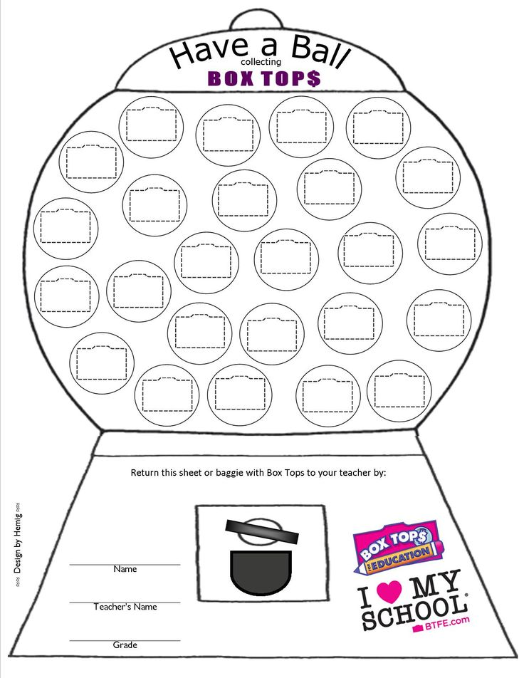 52 best images about Box Tops Collection Sheets on