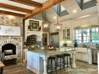 25+ best ideas about Fireplace in kitchen on Pinterest ...