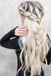 ideas bohemian hairstyles