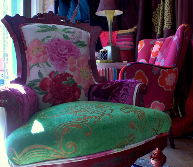1000 images about Kitchen chair reupholstery ideas on
