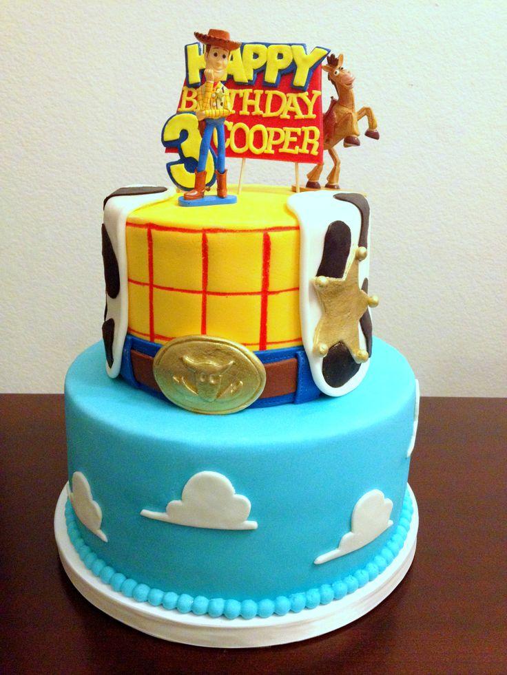 Toy Story Fondant Cake Cake Decorating Pinterest