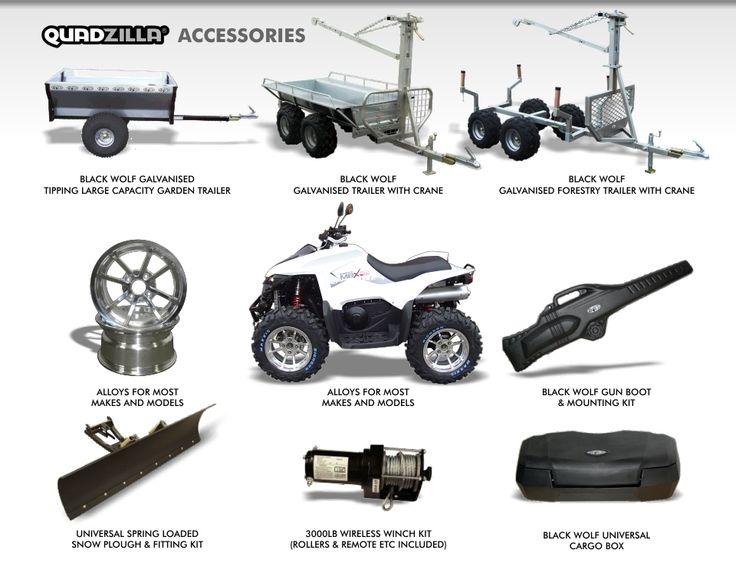 Top 25 ideas about Quad Bikes, Snow Ploughs, Gritters