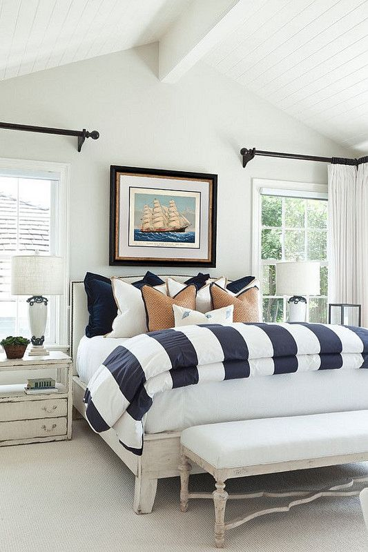 25 Best Ideas About Nautical Curtains On Pinterest Beach Style