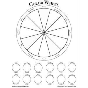 17 Best ideas about Color Wheel Worksheet on Pinterest