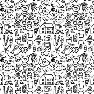 doodles random doodle drawings simple