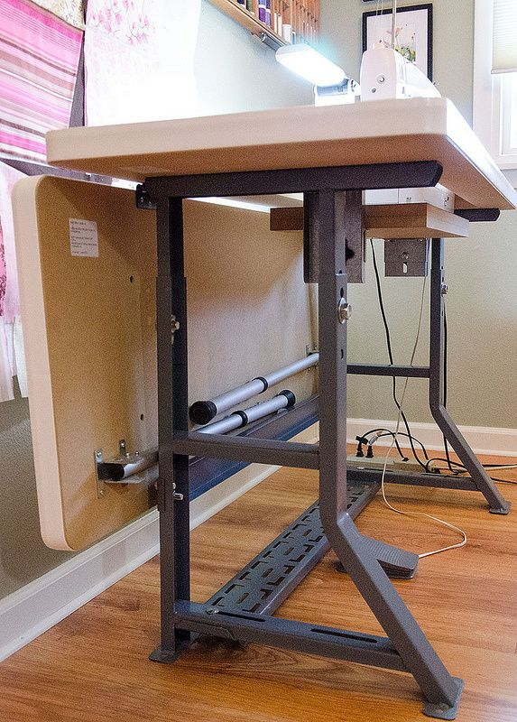 Diy Sewing Table Ideas Table And Chair And Door