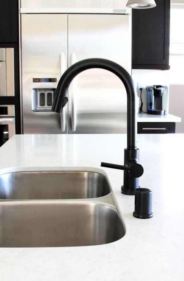 kingston brass kitchen faucet portable pantry 17 best ideas about black faucets on pinterest ...