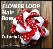 ideas hair bow tutorial