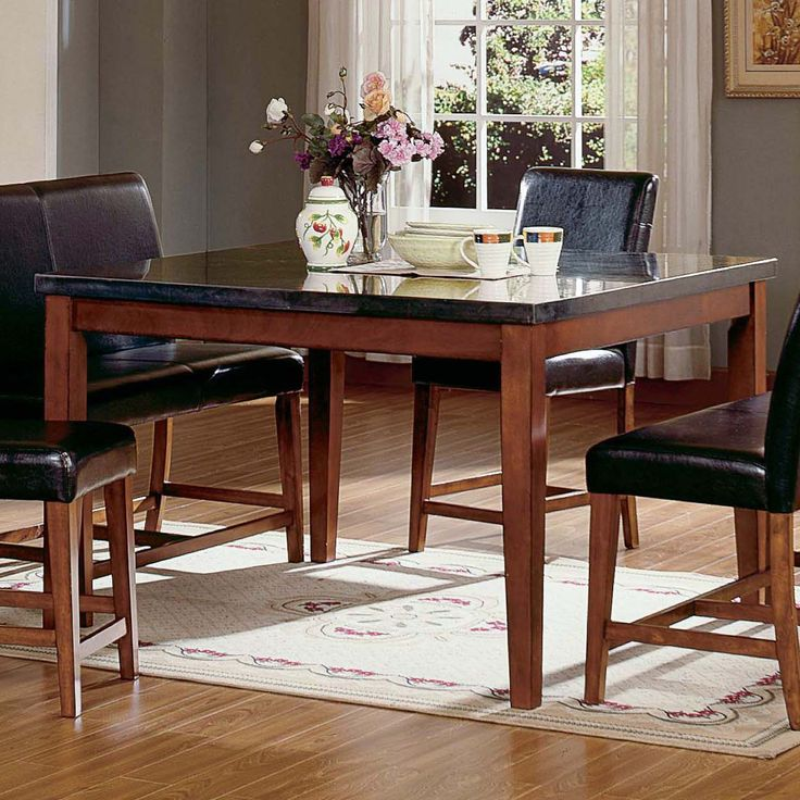 1000 ideas about Square Dining Tables on Pinterest  Round bar Arm chairs and Side chairs