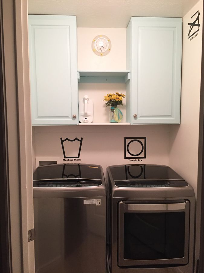 17 Best ideas about Tiny Laundry Rooms on Pinterest
