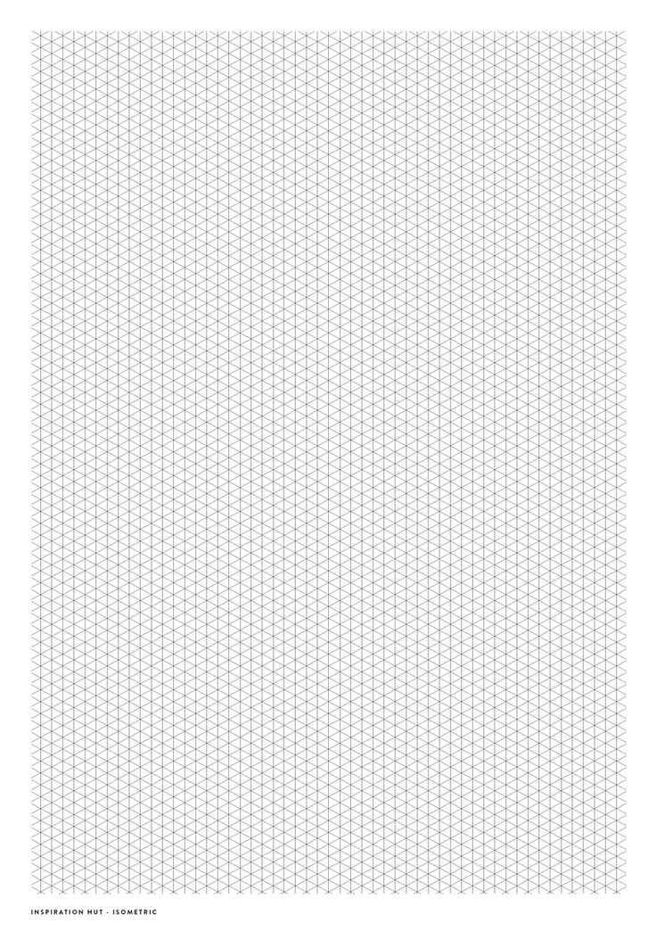 Three Dimensional Graph Paper Printable Pictures to Pin on