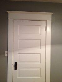 Door Trim & Trim Work Above Interior Doors | Del Pizzo ...