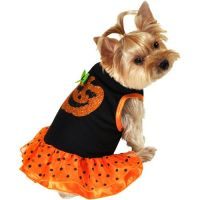 Pumpkin Dress Dog Halloween Costume at #Walmart. Available ...