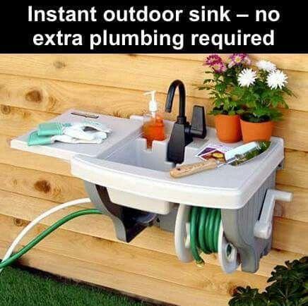 25 Best Ideas About Outside Sink On Pinterest Garage Pergola