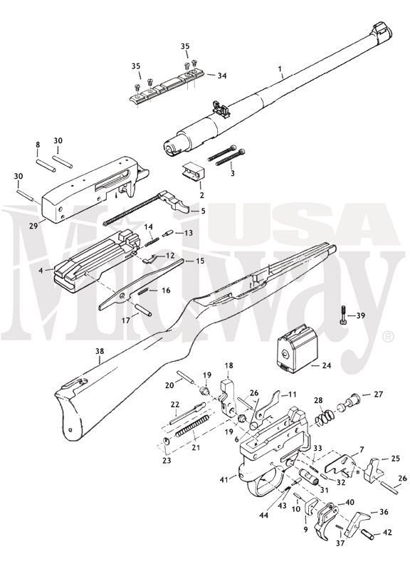 17 Best images about Gun diagrams and parts on Pinterest