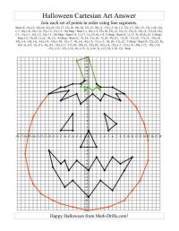 Halloween Graphing Worksheets Plotting Points | Math ...