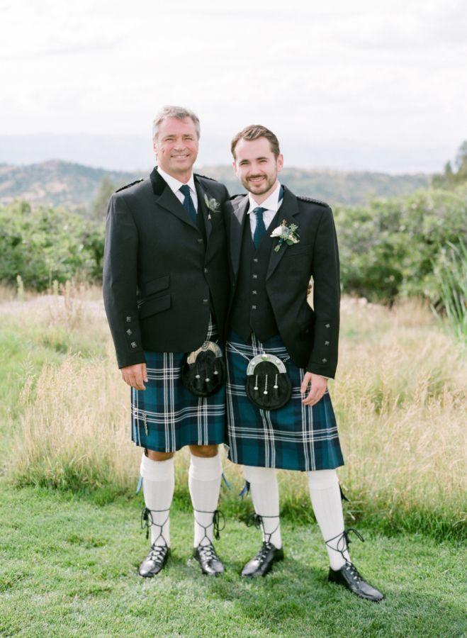Elegant  Traditional Scottish Wedding in Colorado