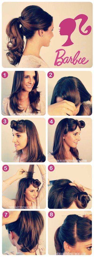 Les 25 Meilleures Idées De La Catégorie Barbie Hairstyle Sur