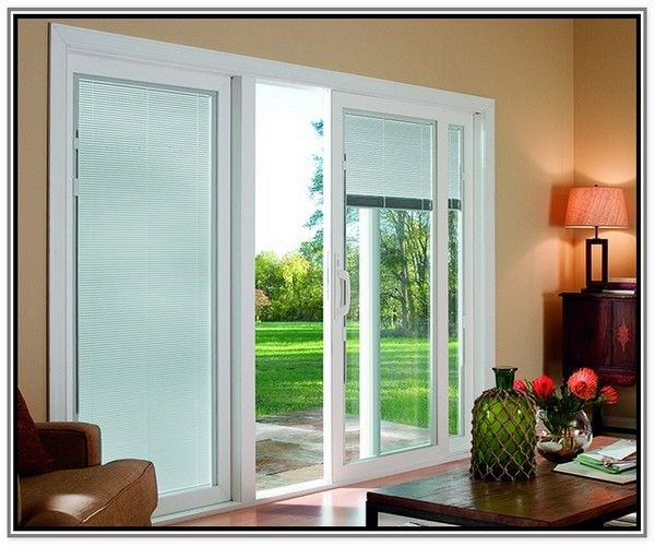 17 Best ideas about Sliding Door Window Treatments on