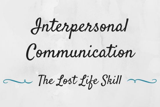 25+ best ideas about Interpersonal communication on