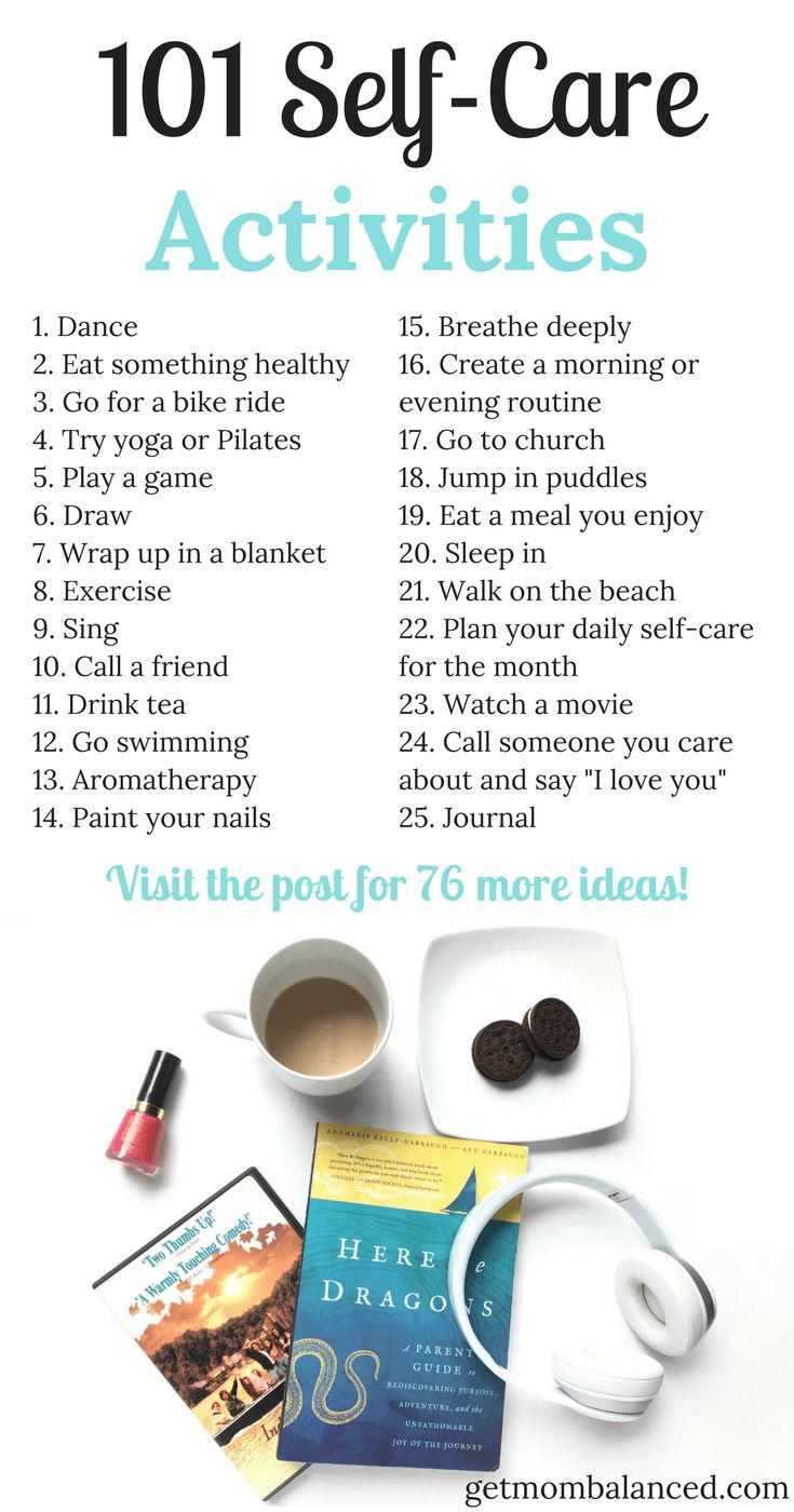 25+ Best Ideas about Self Care Activities on Pinterest