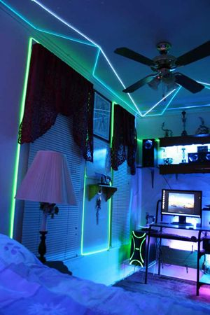 Avery Would Love This With His Tron Themed Room