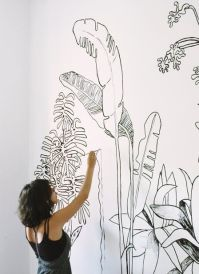25+ best ideas about Wall drawing on Pinterest | Mandala ...