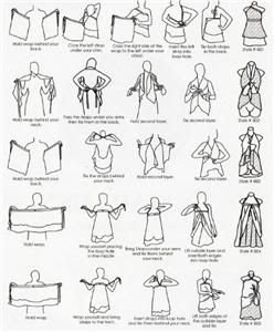 39 best images about Sarong / pareo knopen on Pinterest
