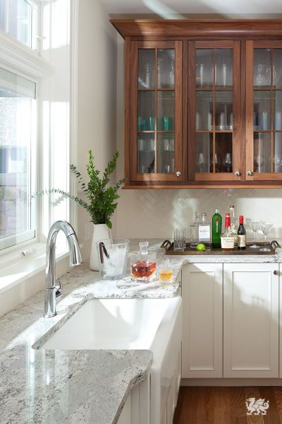 cambria kitchen countertops An unconventional kitchen corner space can be utilized