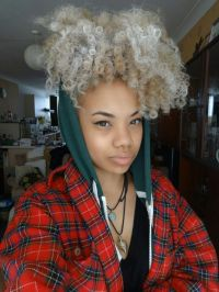 25+ best ideas about Dyed natural hair on Pinterest