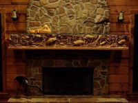 173 best images about Carved Fireplace Mantles on ...