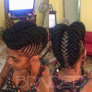 natural hair updo ideas