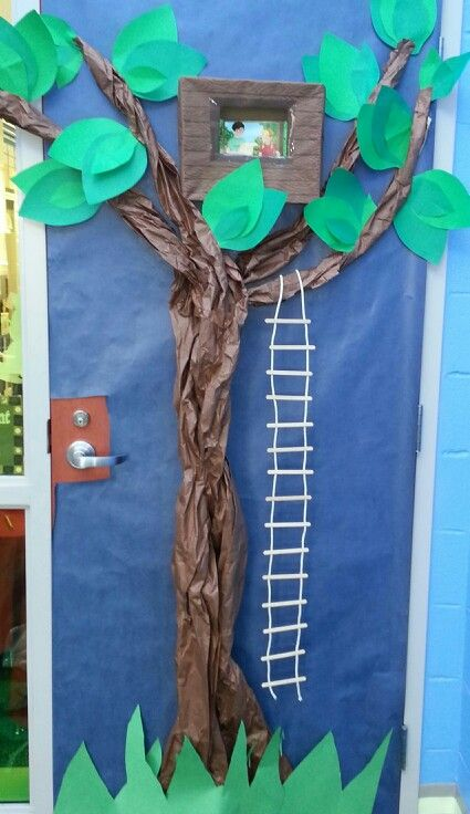 Our Magic Tree House Door Decoration For Read Across