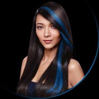 Dark Hair With Red Streaks Hair Color Streaks On Blacks ...
