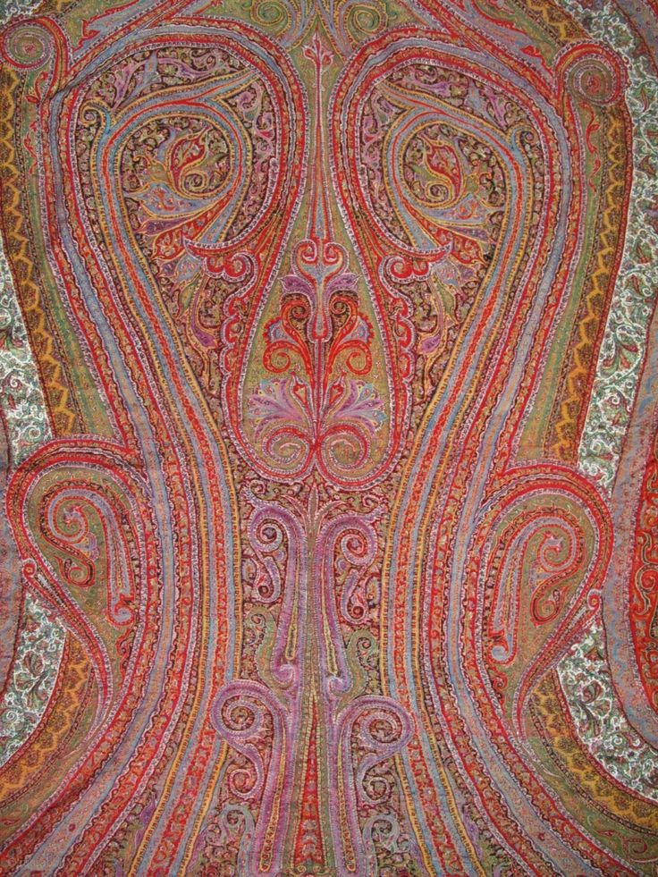 2025 best Antique Kashmir and Paisley Shawls images on